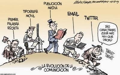 La evolución de la comunicación. A1-C2 2