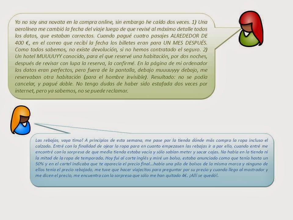 La intención del texto escrito en un BLOG. ELE C1-C2 11